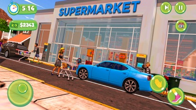 Supermarket Shopping Girl Game screenshot #3