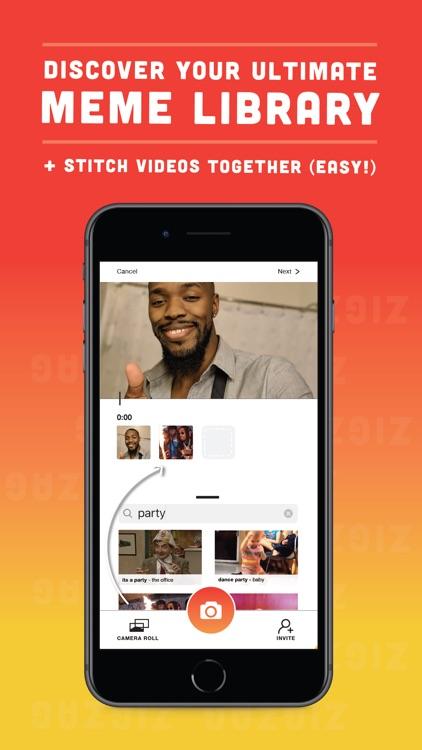 ZigZag - Video Collab App screenshot-3