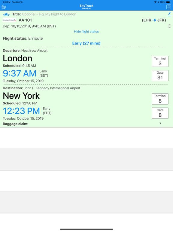 SkyTrack Flight tracker aware-ipad-3