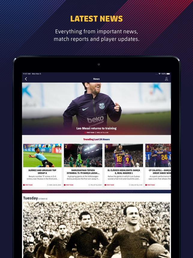 f74c810c10f  FC Barcelona Official App on the App Store