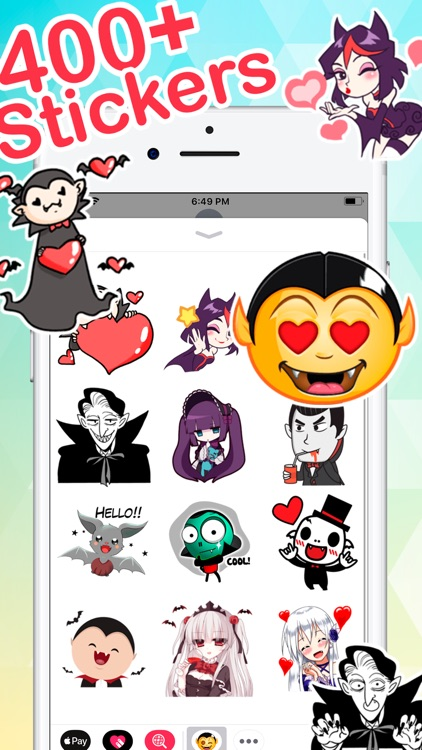 iStickers: Vampires screenshot-0