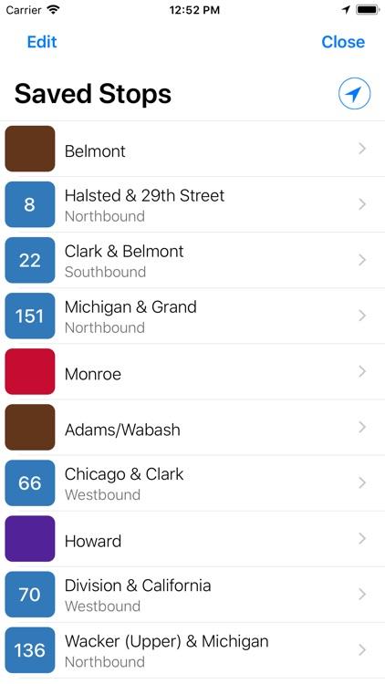 Transit Stop: CTA Tracker. screenshot-6