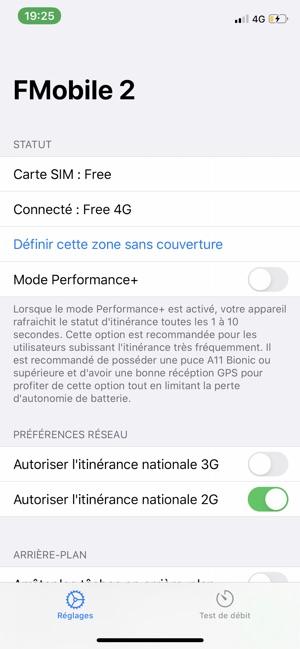 perte carte sim free FMobile 3 on the App Store