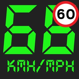 Speedmeter mph digital display