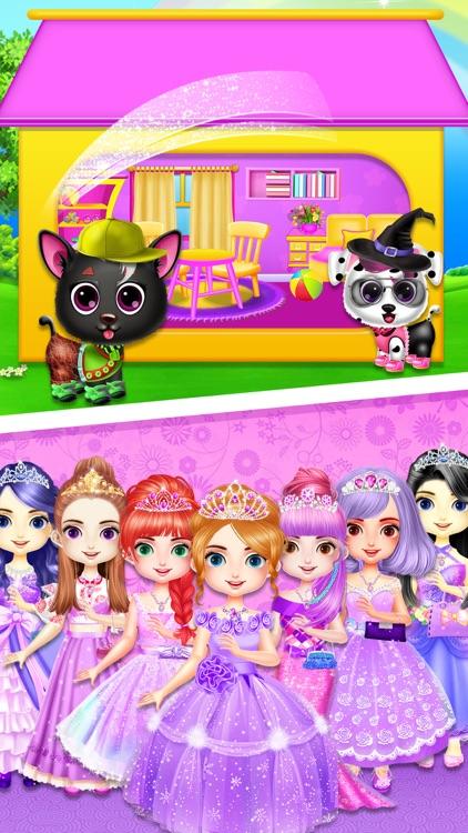 Baby Girls - Doll House Games screenshot-6