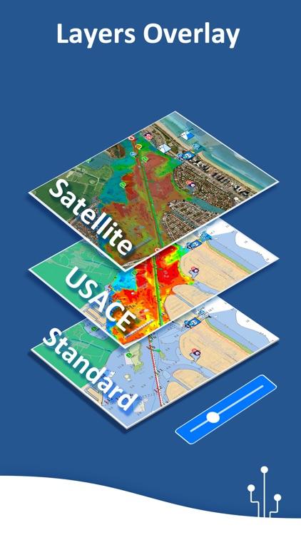 Aqua Map: Marine & Lake maps screenshot-6