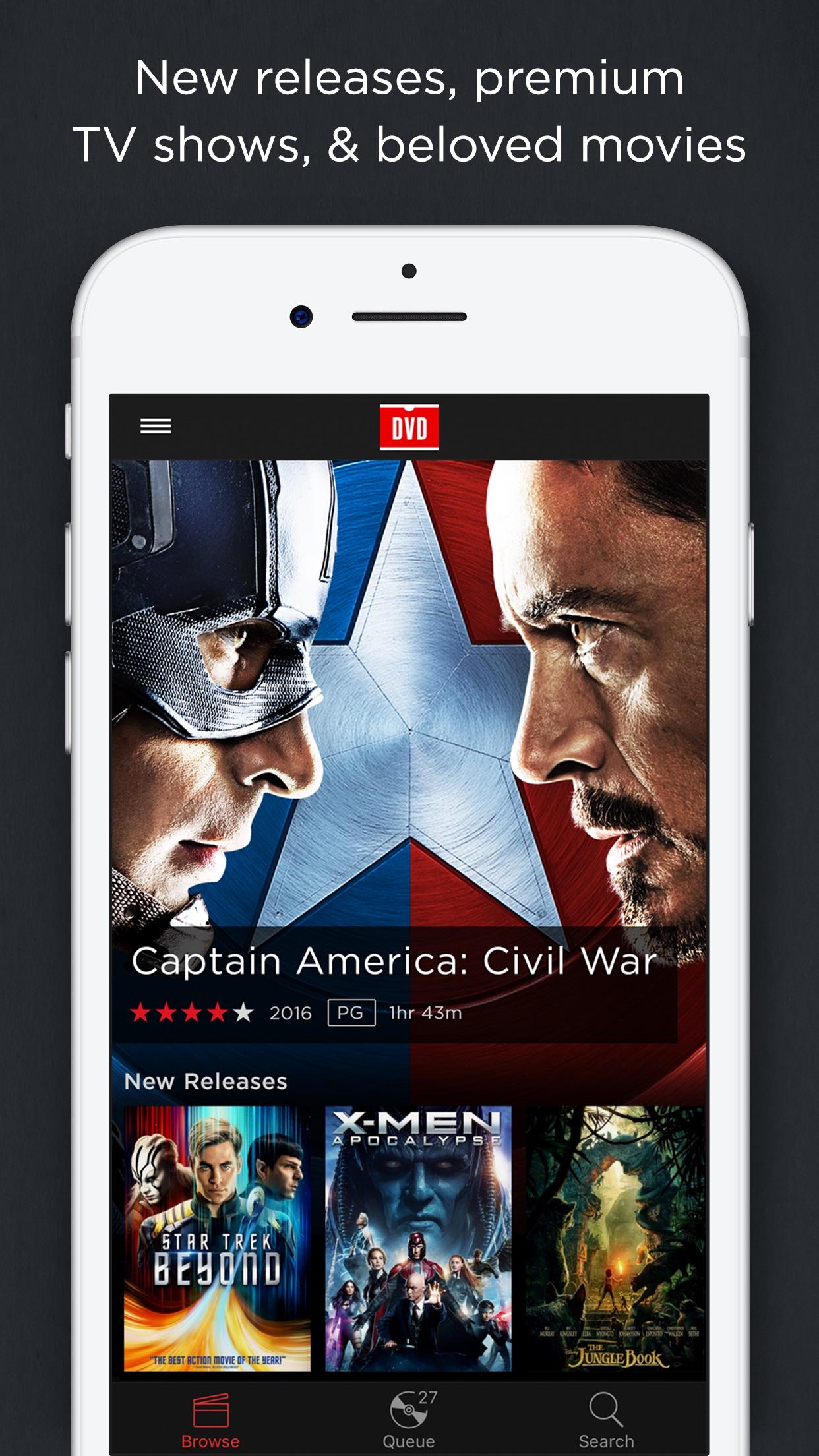DVD Netflix Screenshot