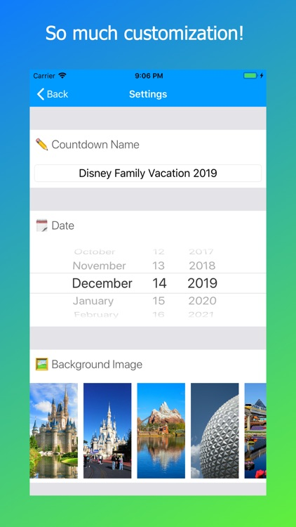 Countdown for Disney World screenshot-3