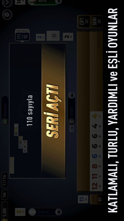 101 Yüzbir Okey Elit screenshot-3