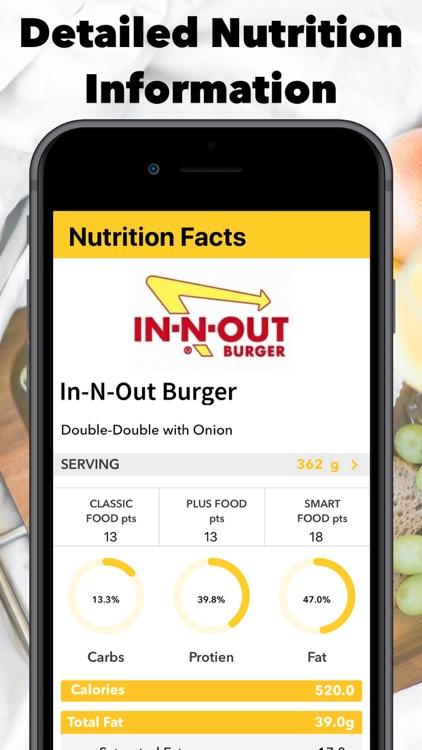 Smart - Food Score Calculator screenshot-3