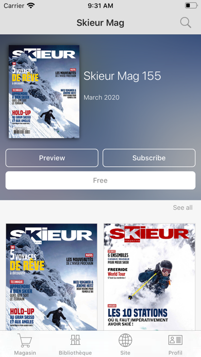 messages.download Skieur Mag software
