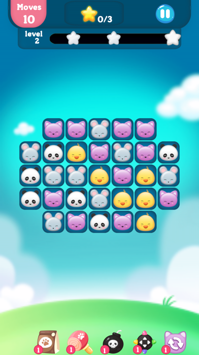 Screenshot for 动物消消乐园 - 萌宠快乐消消消 in Viet Nam App Store
