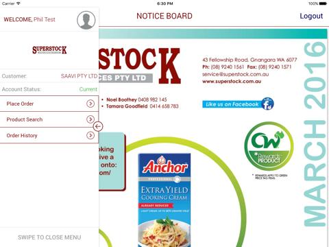 Superstock Food Services - náhled
