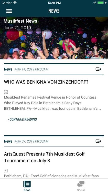 Musikfest 2019 screenshot-4