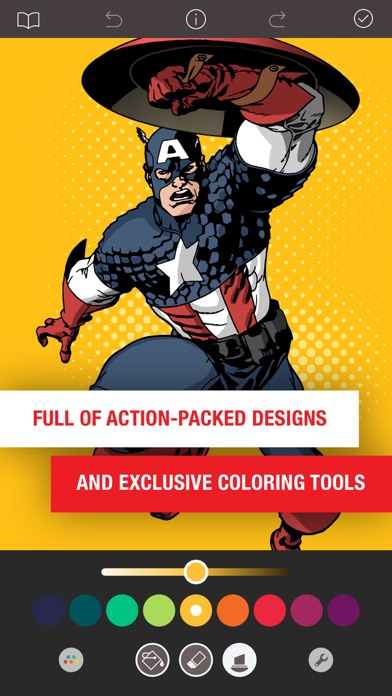 Marvel: Color Your Own app image