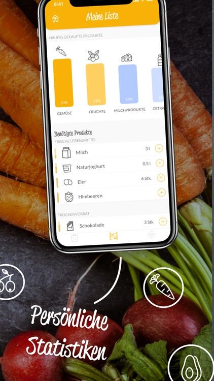HNGRY - Einkaufsliste & Vorrat screenshot-4