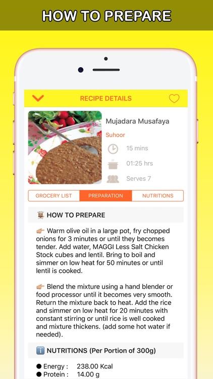 Ramadan Recipes Latest رمضان screenshot-3