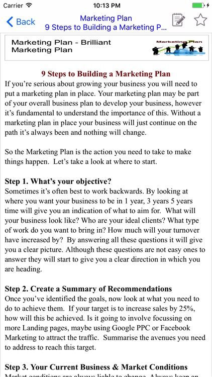 Brilliant Marketing Plan - screenshot-2