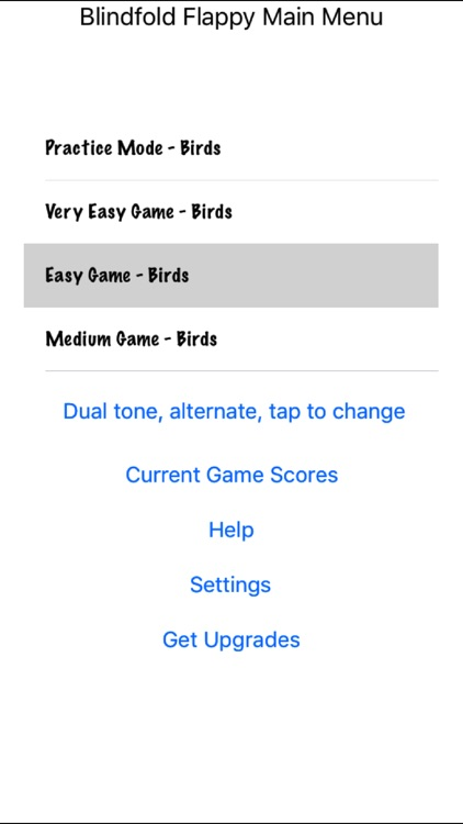 Blindfold Flappy