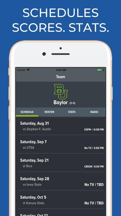 Baylor Football Schedules
