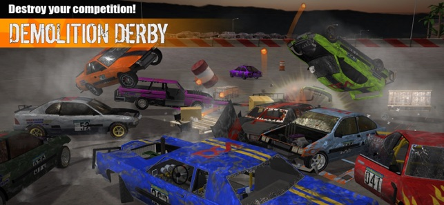 Download and install Demolition Derby 2 Apk for PC
