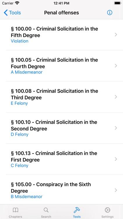 New York Criminal Law screenshot-3
