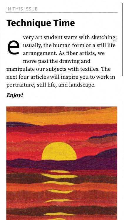 Quilting Arts Magazine screenshot-3