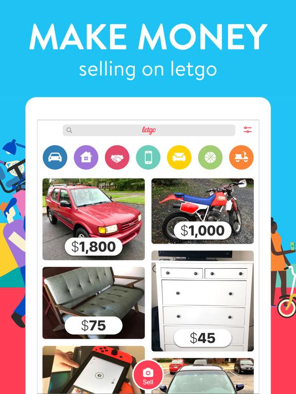 iPad Image of letgo: Buy & Sell Used Stuff