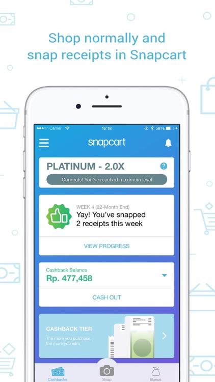 Snapcart: Cashback for Receipt