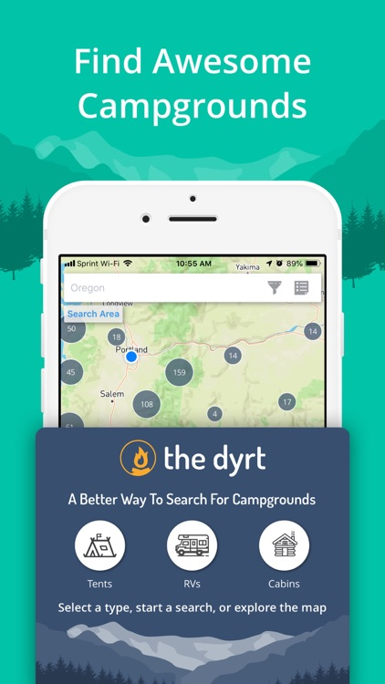 The Dyrt: Tent & RV Camping