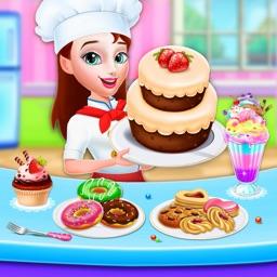 Sweet Bakery Dessert Chef