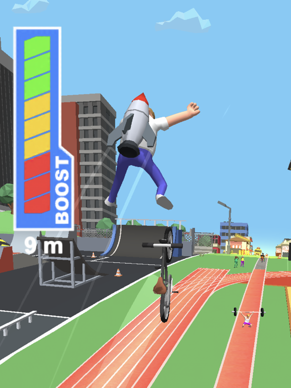 Bike Hop: Crazy BMX Jump 3Dのおすすめ画像4