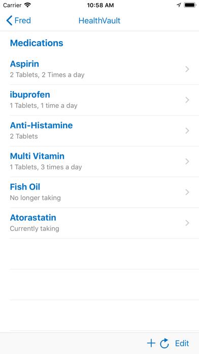 messages.download Microsoft HealthVault software