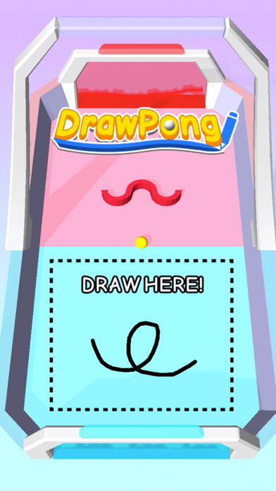 Draw Pong! screenshot 1