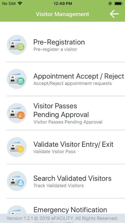 eFACiLiTY® Smart Facility App screenshot-8