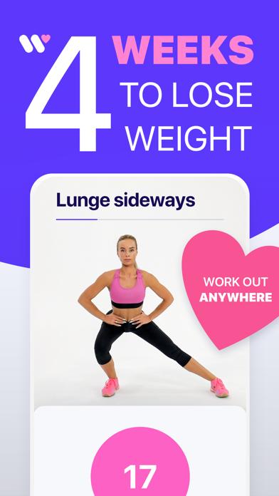 Workout 24 Weight loss fitness screenshot 1