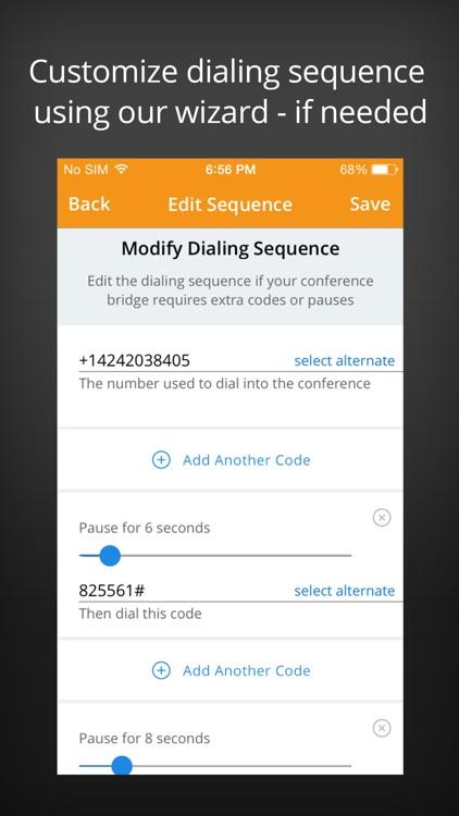 MeetingMogul Conference Dialer screenshot-4