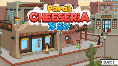 Papa's Cheeseria To Go! Screenshot