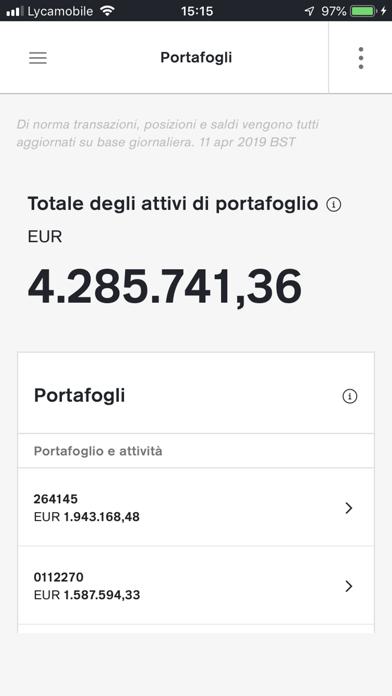 Screenshot of Credit Suisse Digital4