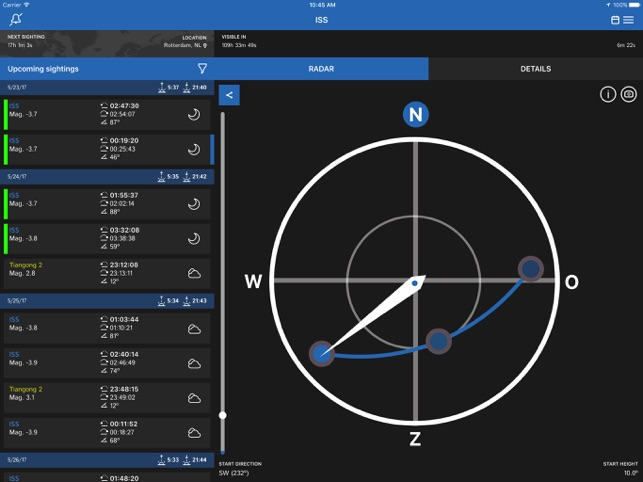 ISS Detector on the App Store