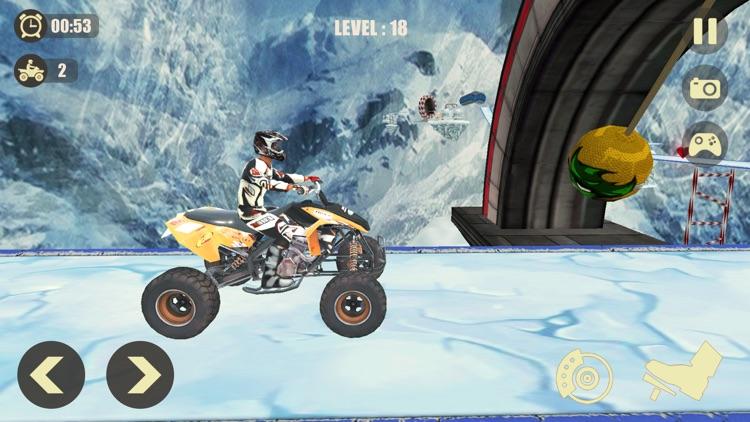 ATV Quad Bike: Mountain Stunts screenshot-4