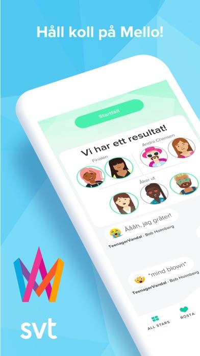 Screenshot for Melodifestivalen in Sweden App Store