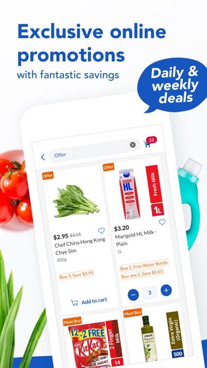 FairPrice: #1 Grocery Retailer screenshot-3