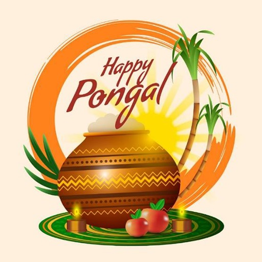 Pongal Stickers