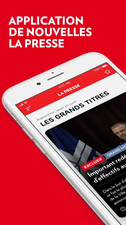 La Presse screenshot-0