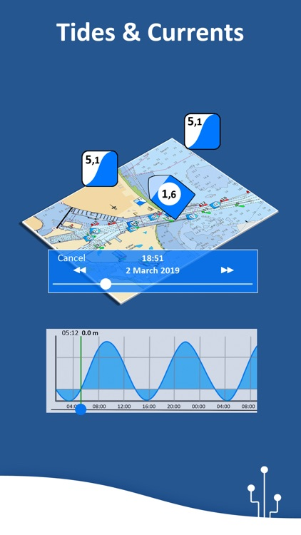 Aqua Map: Marine & Lake charts