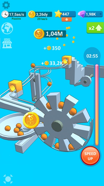 Balls Rollerz Idle 3D Puzzle screenshot-0