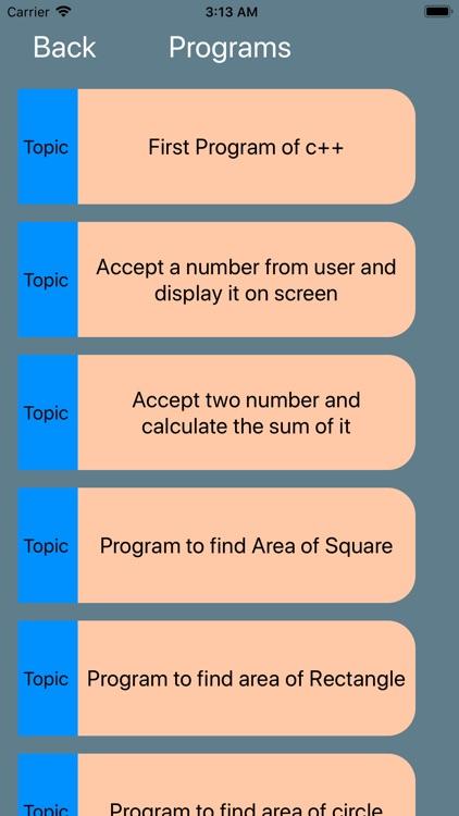 Learn basic C Plus Plus screenshot-7