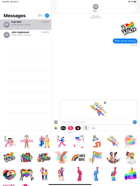 LGBT Power Stickers screenshot 4