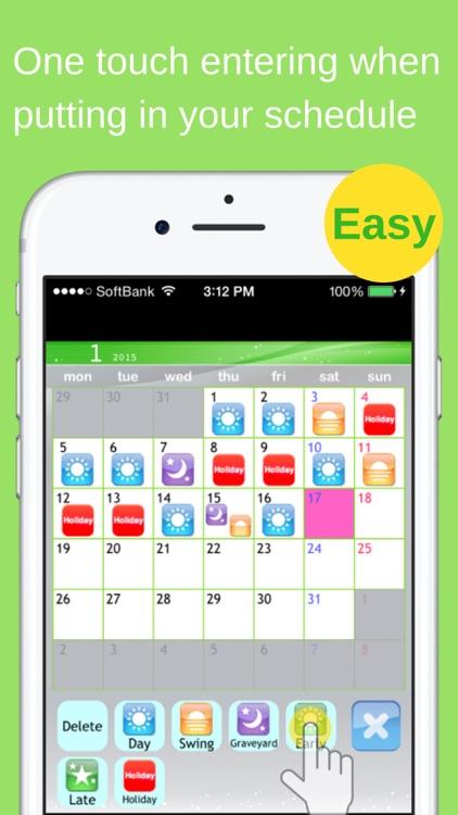 Shift Planning Calendar screenshot-3
